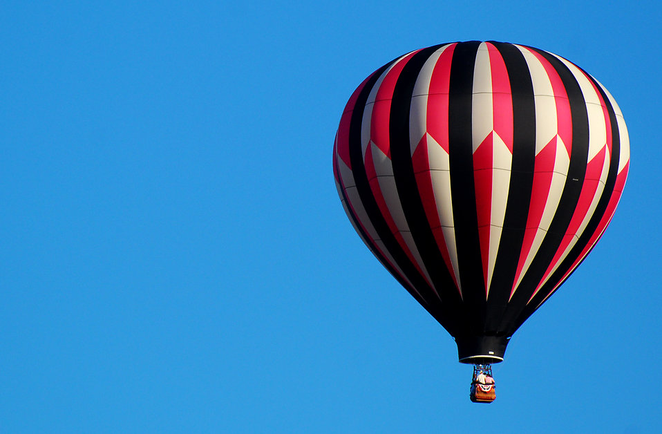Black Hills South Dakota Hot Air Balloon