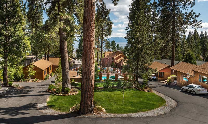 Cedar Glen Lodge Lake Tahoe California