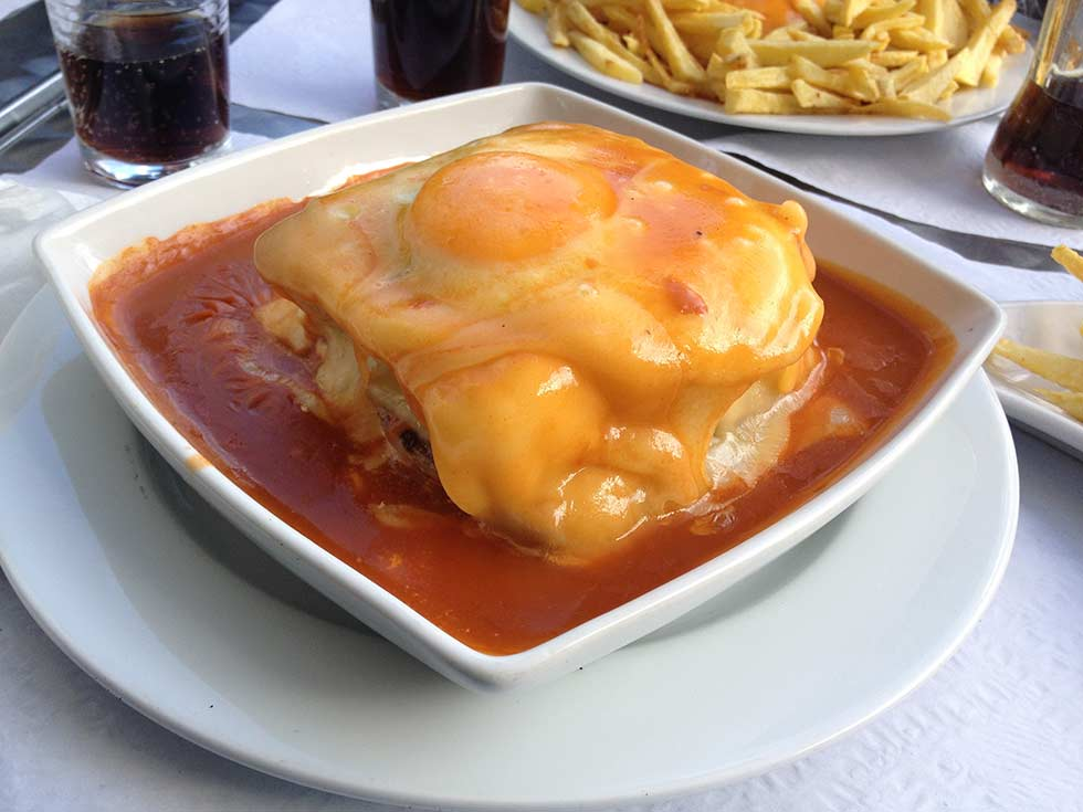 Things to do in Porto Portugal: Francesinha