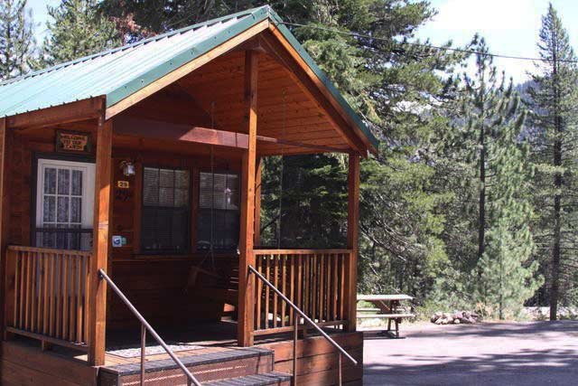 Lake Tahoe KOA Cabins California