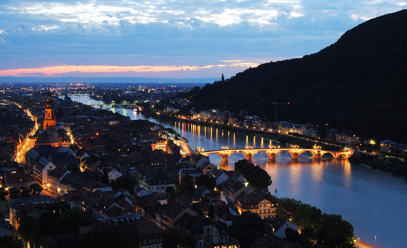 Main River Heidelberg Germany