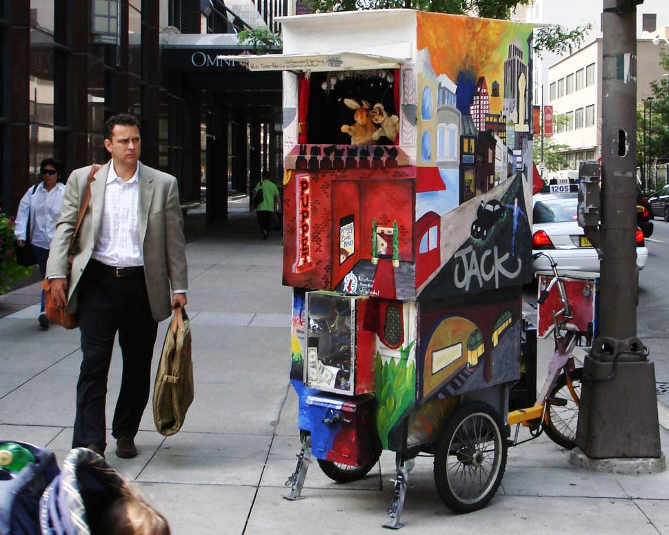 The Puppet Bike Chicago IL