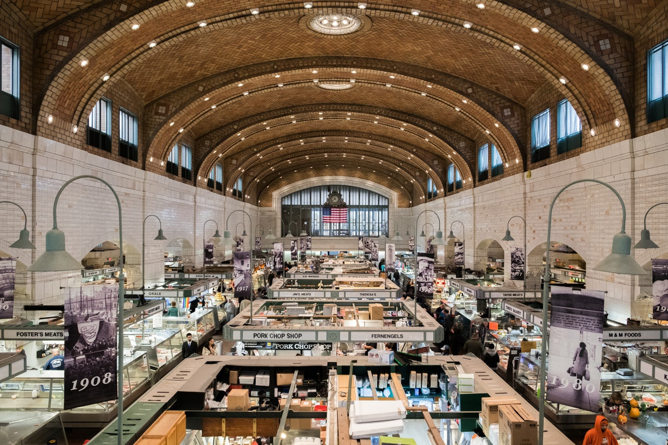 West Side Market in Cleveland Ohio
