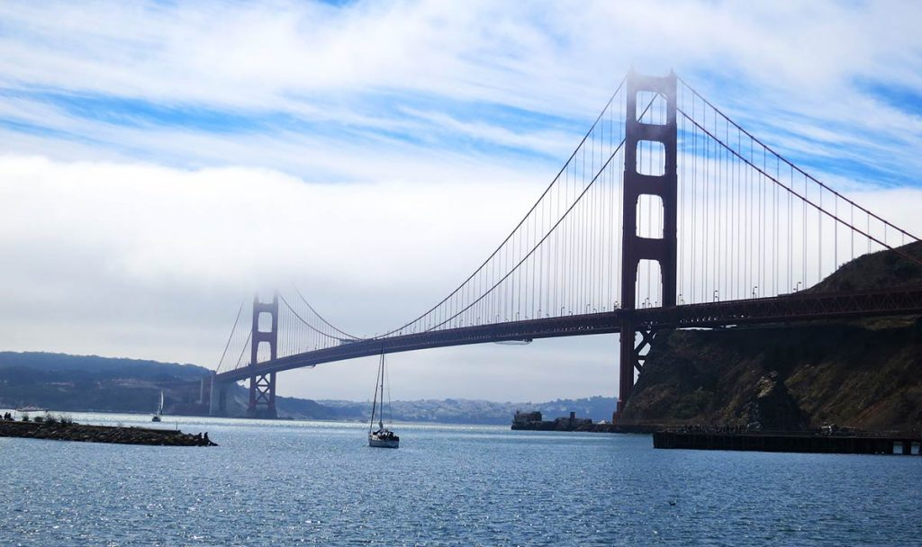 golden gate bridge photo spots - Fort Baker