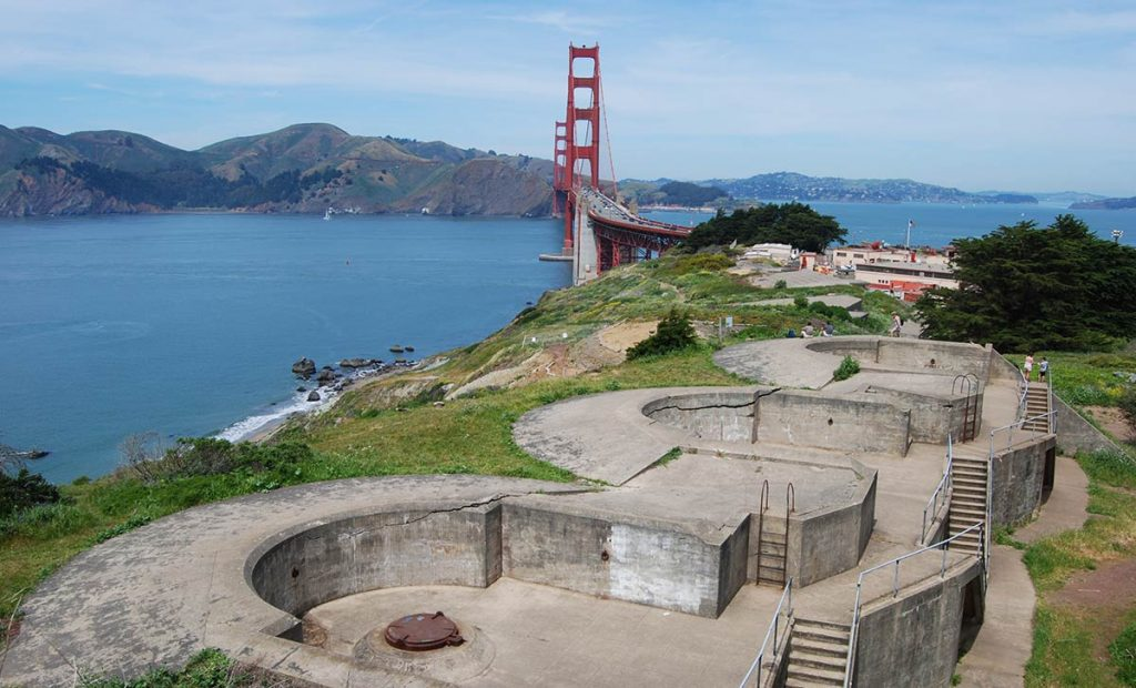 Photo Spots From Battery Godfrey San Francisco