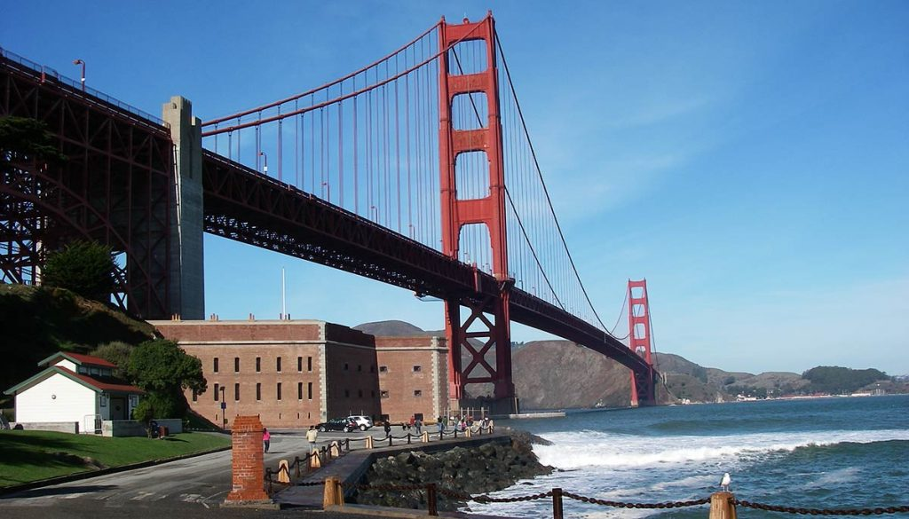 golden gate bridge photo spots - Fort Point