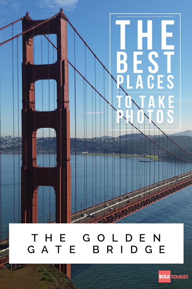 The Absolute BEST photo spots for The Golden Gate Bridge