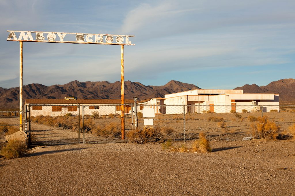 Amboy California School