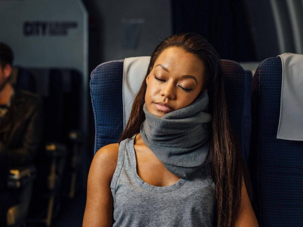 Long Haul Flight Pillow