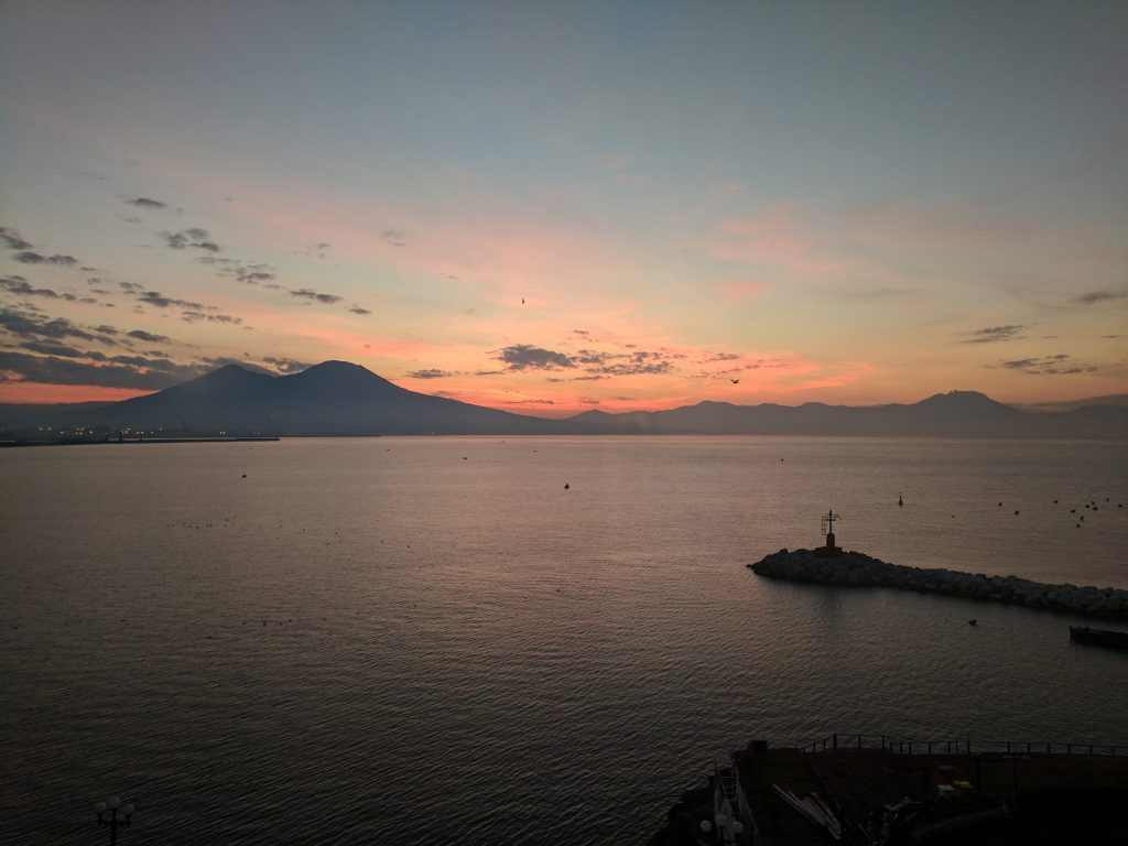 Sunrise in Naples