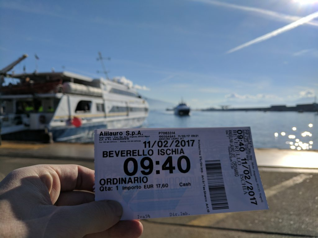 Ferries from Naples