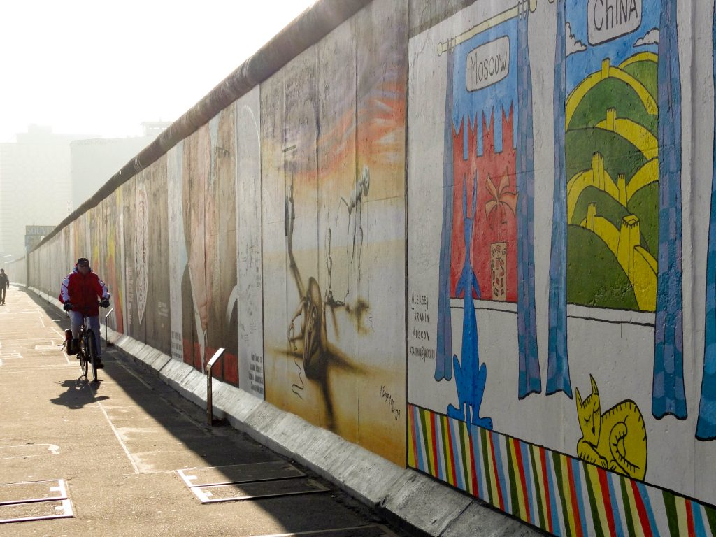 East Side Gallery Berlin Wall