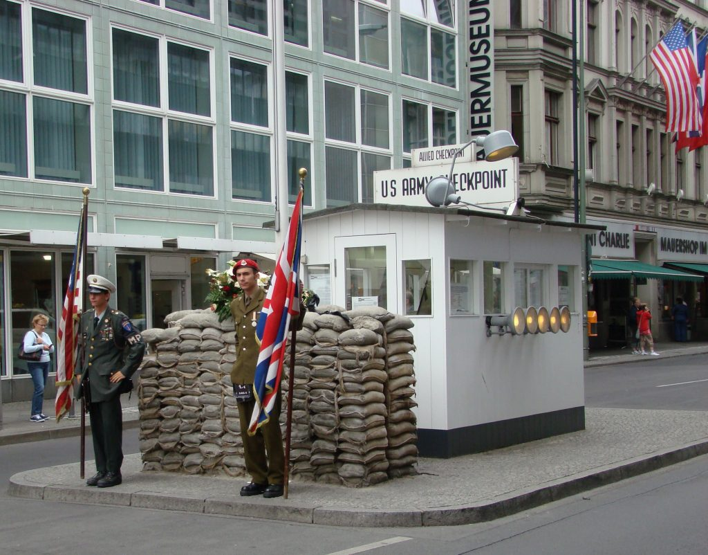 Checkpoint Charlie Berlin Wall