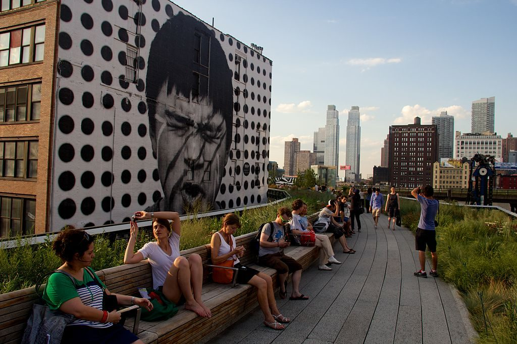 High Line Park New York City