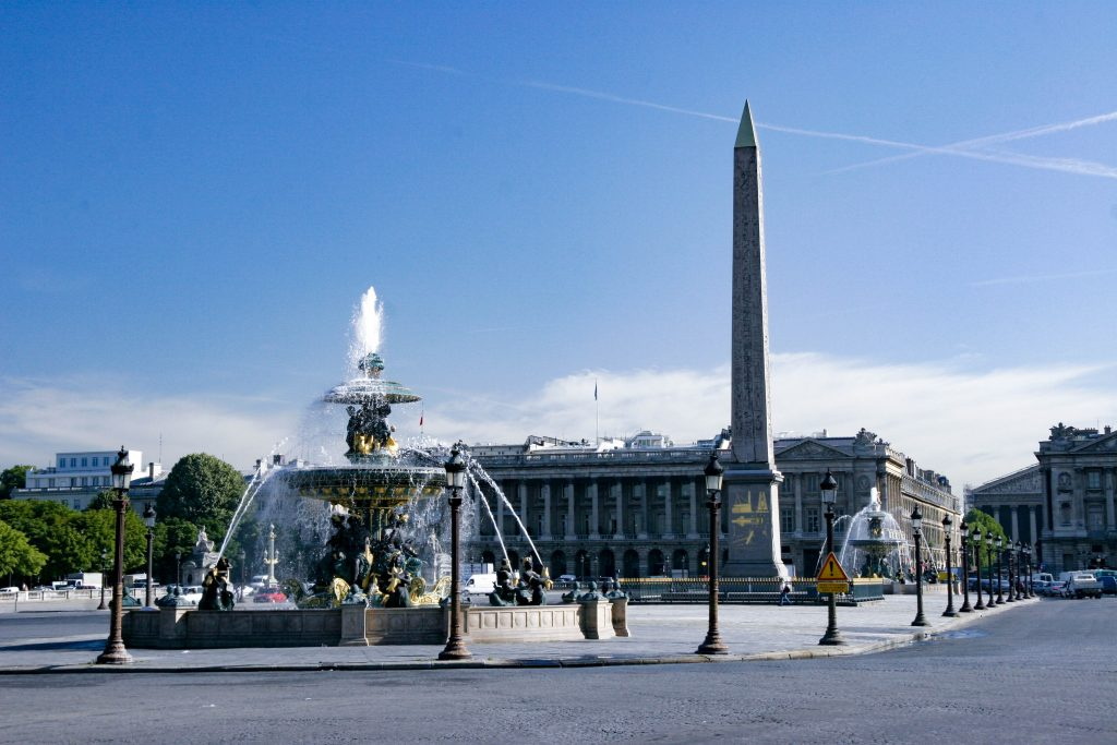 Place de la Concorde Paris France-1