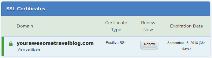 SSL Successfully Installed on HostGator