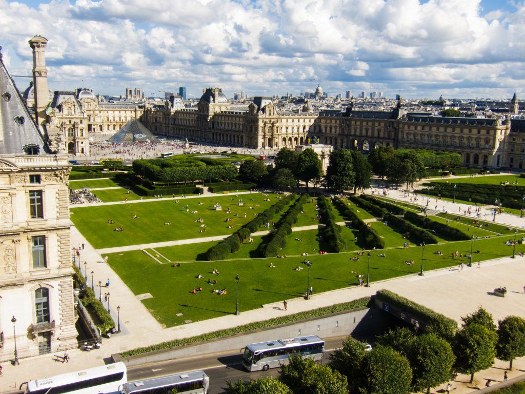 Paris france bold tourist - Plan detaille du jardin des tuileries ...