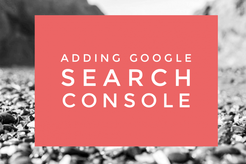 Adding Search Console to your Travel Blog