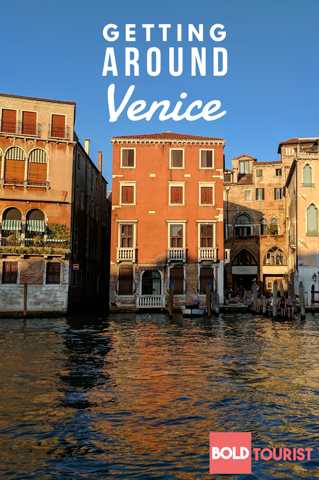 How to get around in Venice, Italy: Vaporetto Water Buses on the Grand Canal