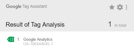 Google Analytics Travel Blog Google Tag Assistant