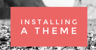 Installing A Theme From ThemeForest