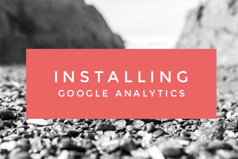Installing Google Analytics on your Travel Blog