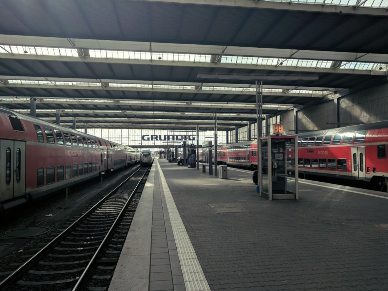 Munich hbf train station