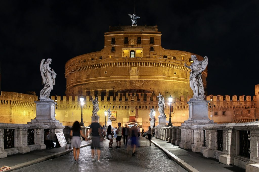 Castel Sant'Angelo Capitoline Hill Rome Italy