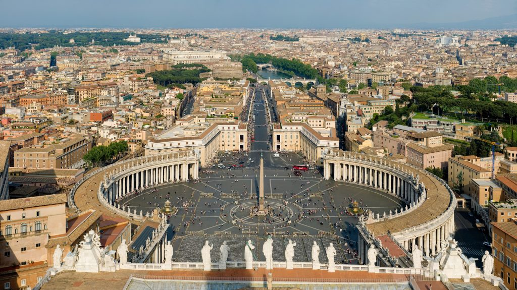 St. Peter's Basilica Top Rome Italy