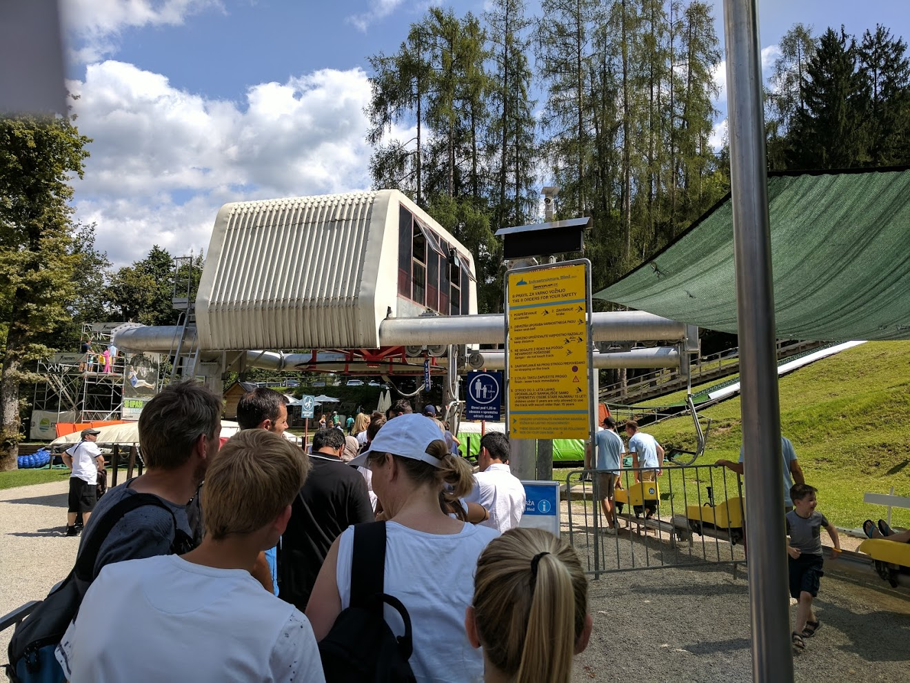straza bled summer chairlift