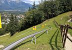 Summer toboggans at Straza Bled in Slovenia is an adrenaline junkie's paradise