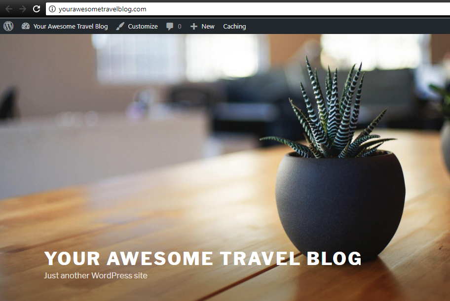 Travel Blog with WordPress on HostGator