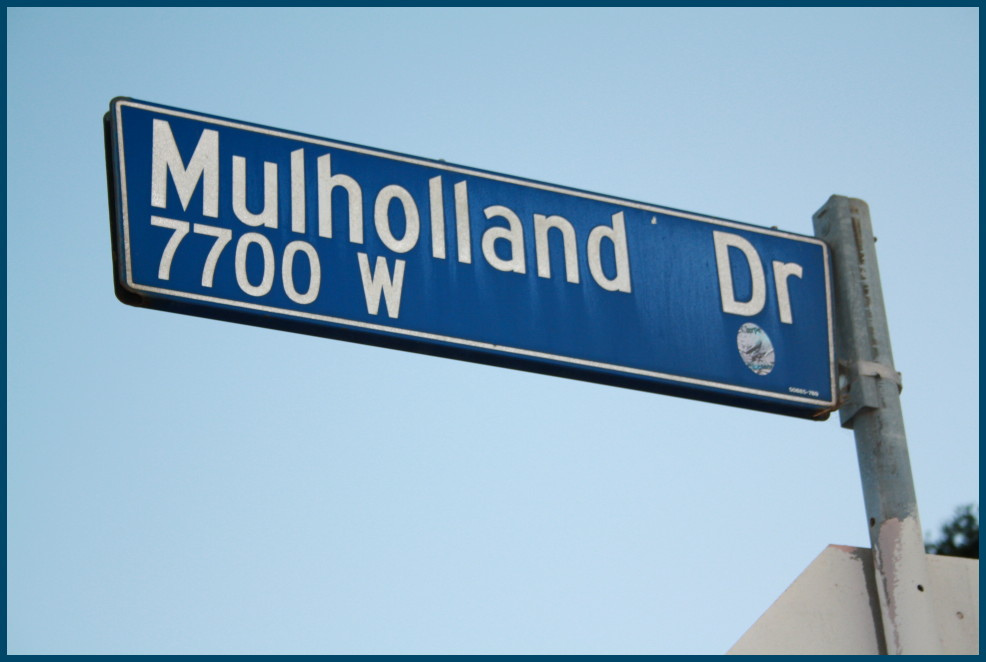Mulholland Drive Sign