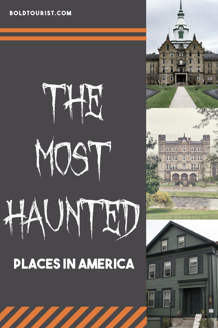 8 of the spookiest places in America