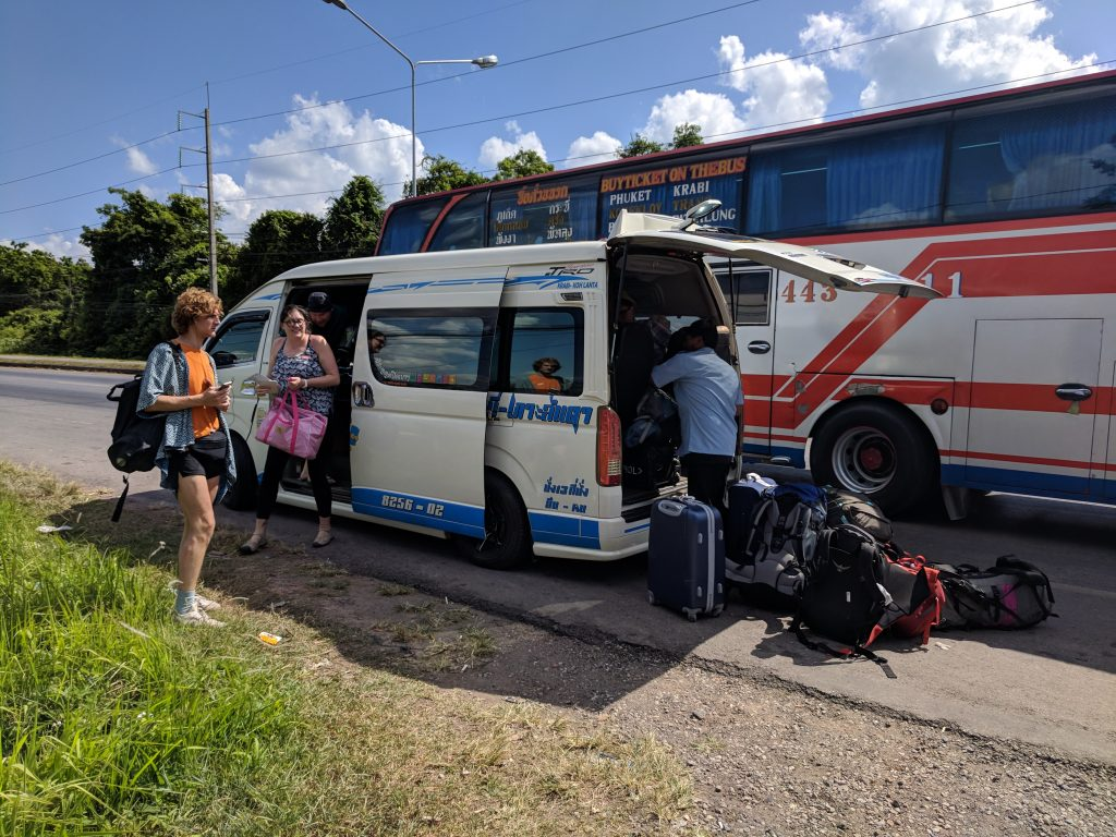 Krabi to Koh Lanta by Bus