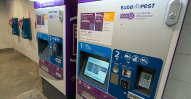 Budapest Ticket Vending Machine