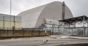 Chernobyl Power Plant Safety Confinement
