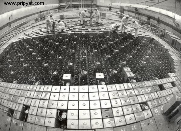 Chernobyl Power Plant Reactor Hall