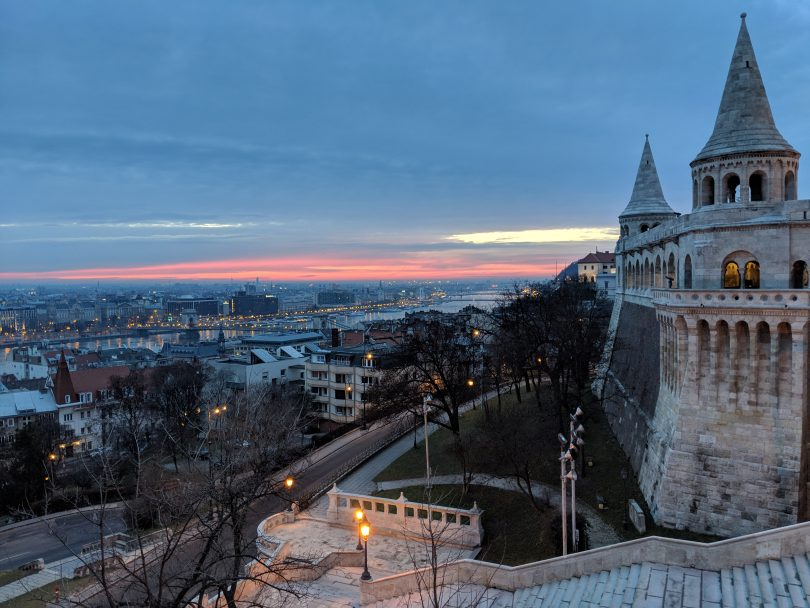 Fisherman's Bastion Sunrise