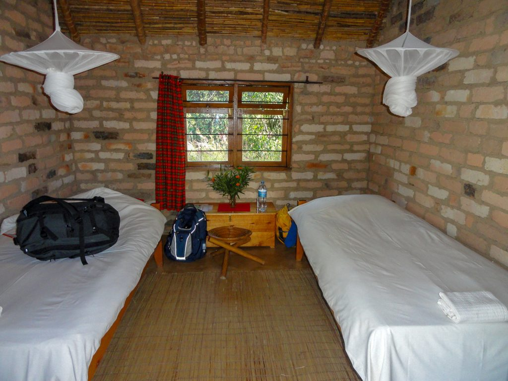 African overland tour lodging