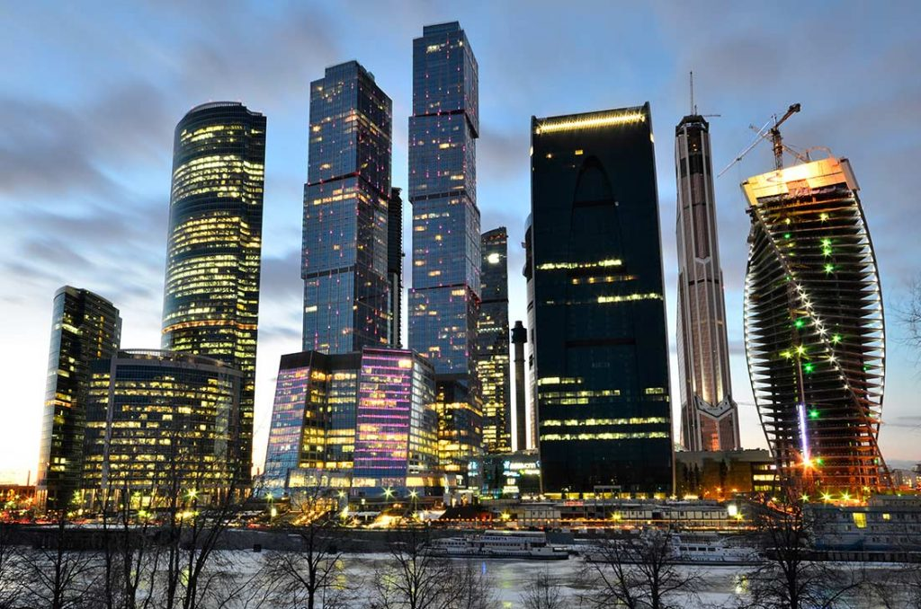 What to do in Moscow- Moscow City