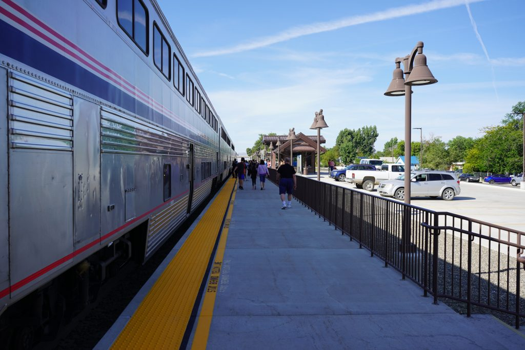 Riding Amtrak Review