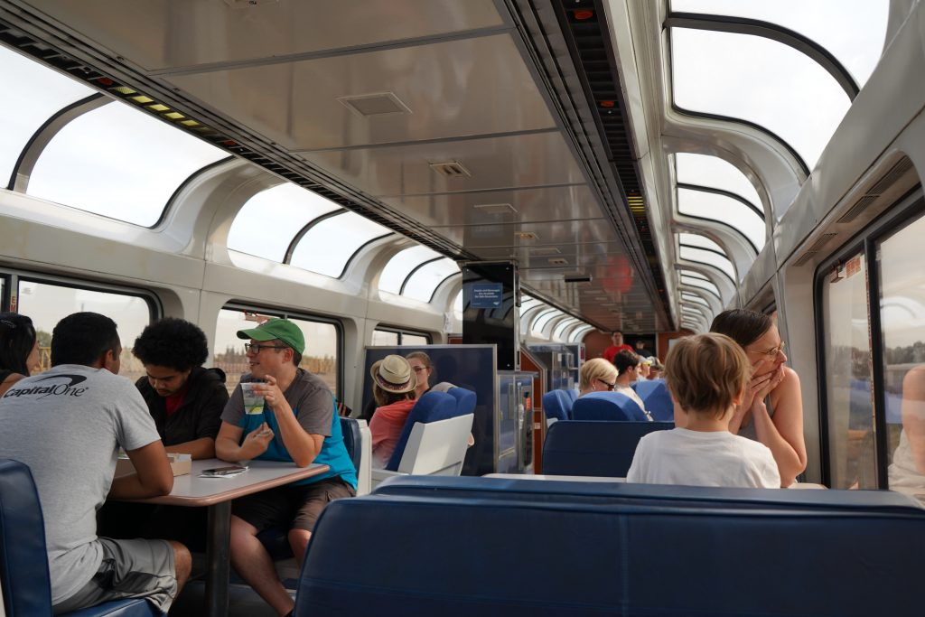 Amtrak Viewing Car Review